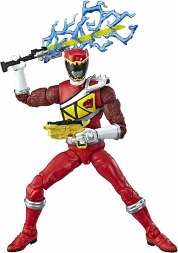 Power Rangers Lightning Collection 6 Inch Action Figure | Red Ranger Perspective: front