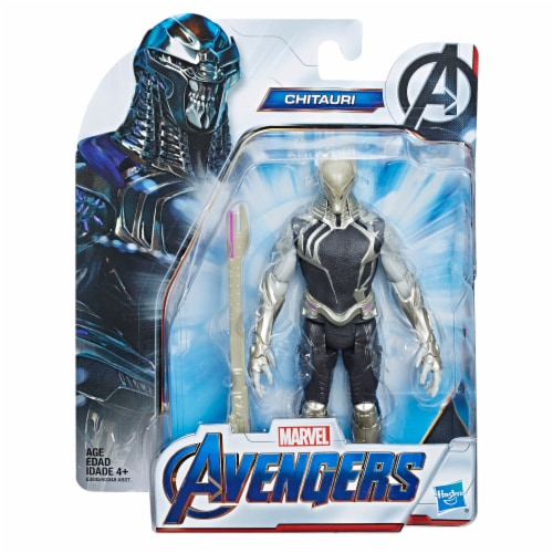 Hasbro Marvel Avengers Chitauri Action Figure and Accessory Perspective: front