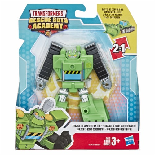 Hasbro Transformers Rescue Bots Academy Boulder The Construction-Bot Action Figure Perspective: front