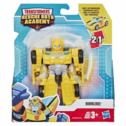 Hasbro Transformers Rescue Bots Academy Bumblebee Action Figure Perspective: front