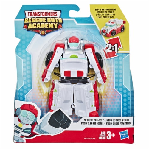 Hasbro Transformers Rescue Bots Academy Medix The Doc-Bot Action Figure Perspective: front