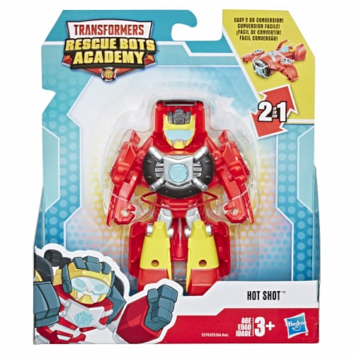 Hasbro Transformers Rescue Bots Academy Hot Shot Action Figure Perspective: front