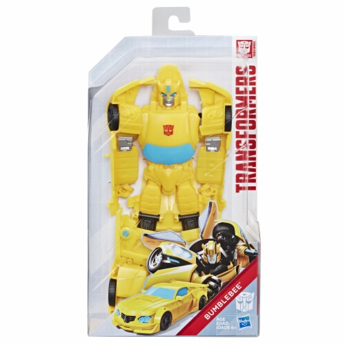 Hasbro Transformers Toys Titan Changers Bumblebee Action Figure Perspective: front