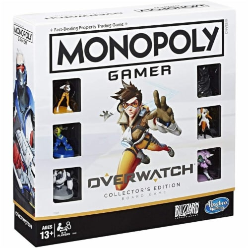 Monopoly Gamer Overwatch Collector's Edition Board Game Perspective: front