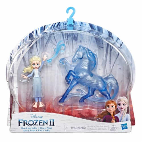 Frozen 2 Small Elsa and the Nokk Dolls Perspective: front