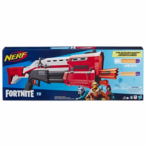Nerf Fortnite Pump Action Dart Blaster Perspective: front