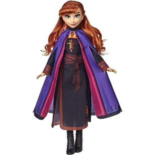 Hasbro Disney Frozen II Anna Fashion Doll Perspective: front