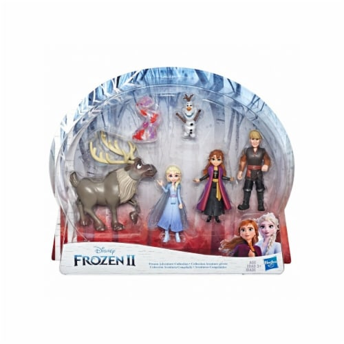 Hasbro HSBE5497 Multi Pack Frost to Forest Small Doll - 4 Piece Perspective: front