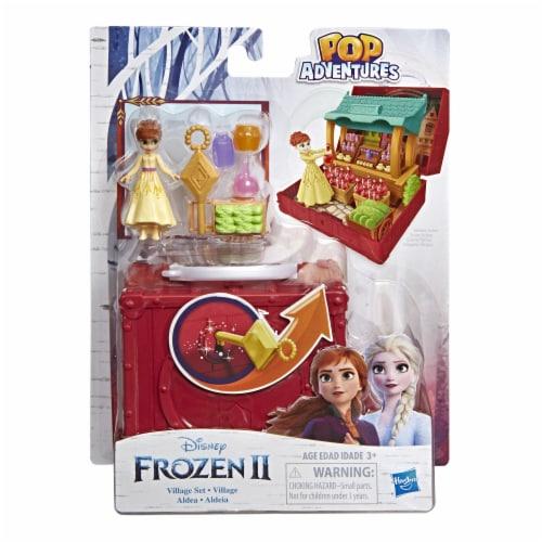 Hasbro Frozen 2 Pop Adventures Village Set Pop-Up Playset Perspective: front