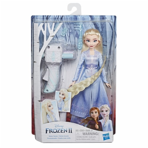 Hasbro Disney Frozen 2 Sister Styles Fashion Doll - Assorted Perspective: front