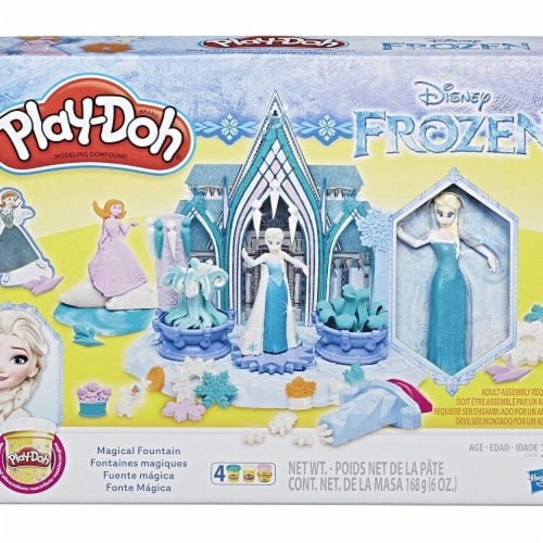 Hasbro HSBE4904 Play-Doh Frozen TV Toy Perspective: front