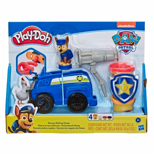 Play-Doh Paw Patrol Rescue Rolling Chase Play Set Perspective: front