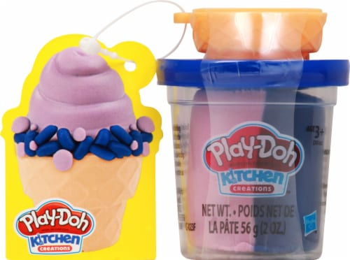 Play-Doh Kitchen Creations Ice Cream Cone Modeling Compound Perspective: front