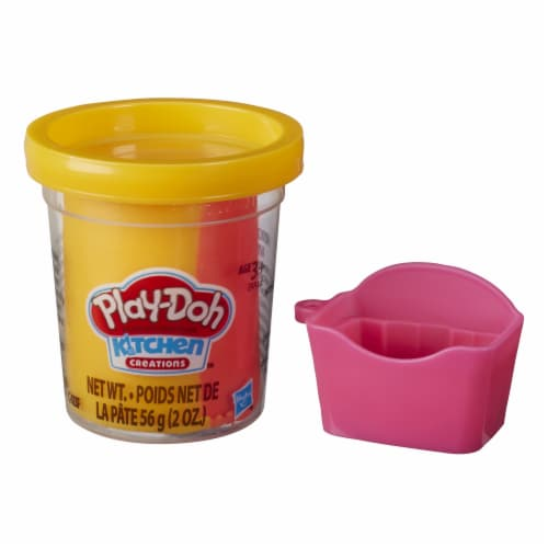 Play-Doh Mini Kitchen Creations French Fries Modeling Compound Set Perspective: front