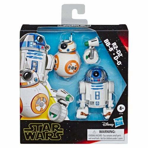 Hasbro Star Wars Galaxy of Adventures Toy Droid Figures Perspective: front