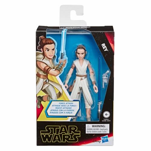 Hasbro Star Wars Galaxy of Adventures Rey Action Figure Perspective: front