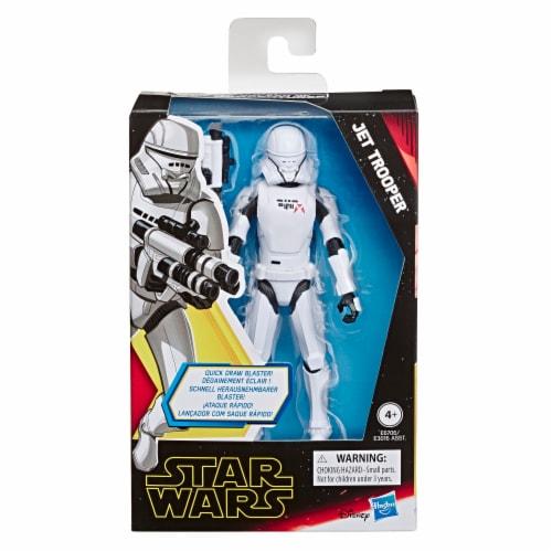 Hasbro Star Wars Galaxy of Adventures Jet Trooper Action Figure Perspective: front