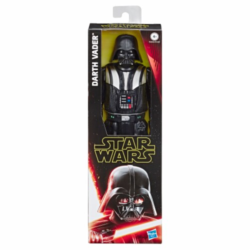 Hasbro Star Wars Hero Series Darth Vader Action Figure Perspective: front