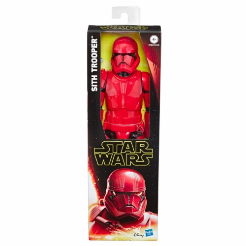 Hasbro Star Wars Hero Series The Rise of Skywalker Sith Trooper Action Figure Perspective: front
