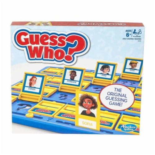 HASBRO Guess Who Board Game Perspective: front