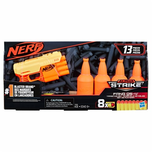 Hasbro Nerf Fang QS-4 Targeting Set Perspective: front