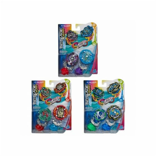 Hasbro HSBE7533 Beyblade Burst-Hypersphere Dual Pack Toys - 8 Piece Perspective: front
