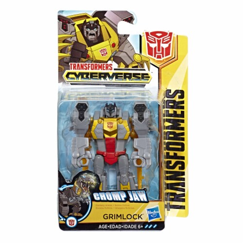 Transformers Cyberverse Scout Class Grimlock Action Figure Perspective: front