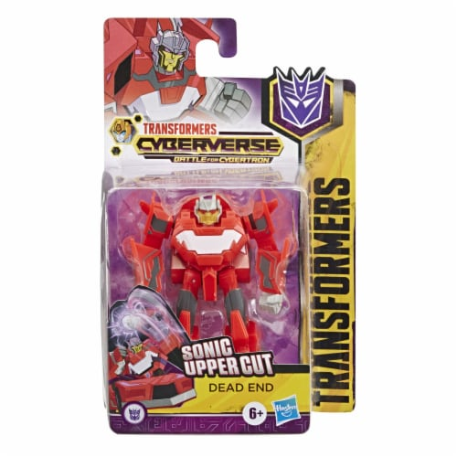 Hasbro Transformers DeadEnd Cyberverse Adventures Action Figure Perspective: front