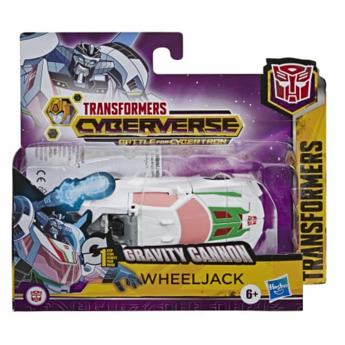 Hasbro Transformers Cyberverse 1-Step Changer - Wheeljack Perspective: front