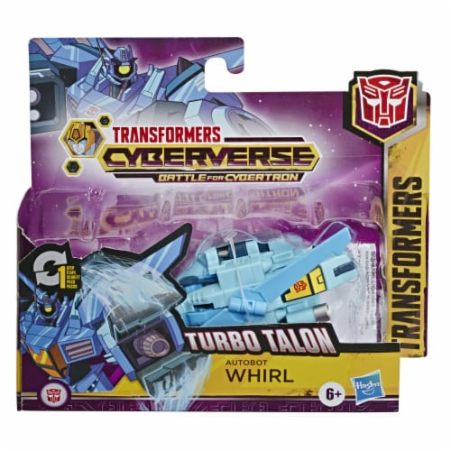 Hasbro Transformers Cyberverse 1-Step Changer - Assorted Perspective: front