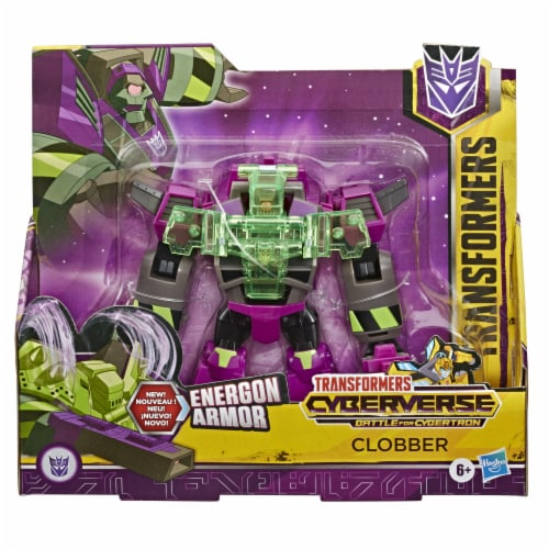 Hasbro Transformers Cyberverse Ultra Class Figure Clobber Perspective: front