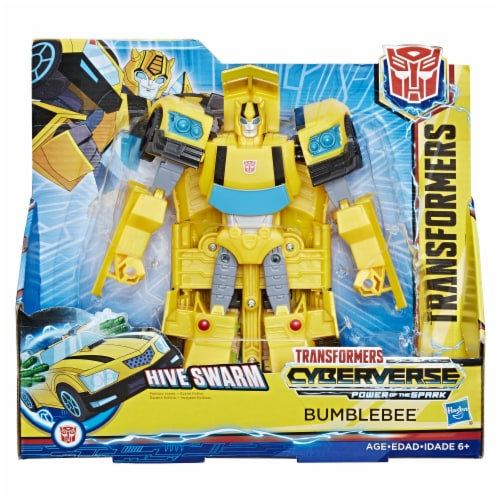 Hasbro Transformers Cyberverse Ultra Class Figure Bumblebee Perspective: front