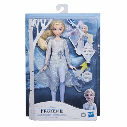 Hasbro Disney Frozen 2 Magical Discovery Elsa Doll Perspective: front