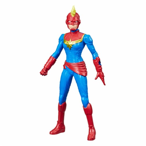 Hasbro Marvel Avengers Captain Marvel Action Figure Perspective: front