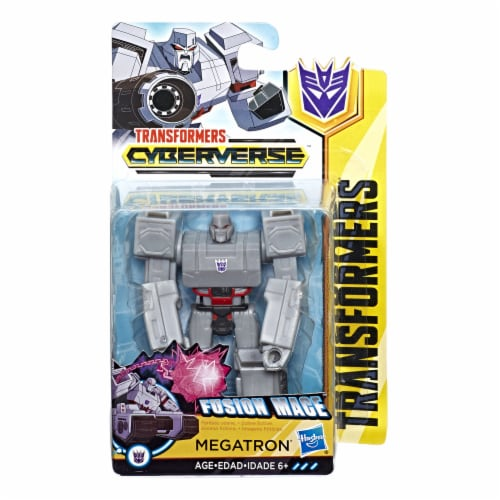 Transformers Cyberverse Scout Class Megatron Action Figure Perspective: front