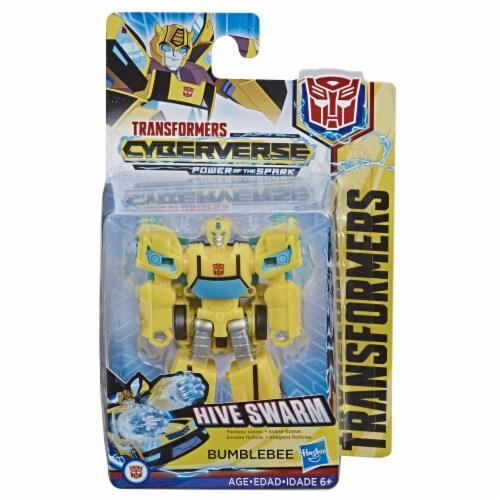 Hasbro Transformers Bumblebee Cyberverse Adventures Action Figure Perspective: front