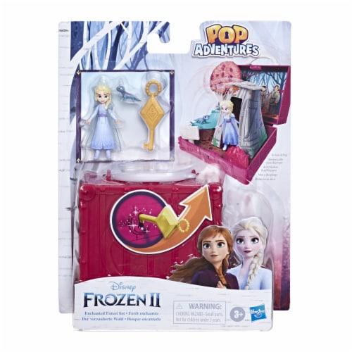 hasbro Disney Frozen 2 Pop Adventures Enchanted Forest Playset Perspective: front
