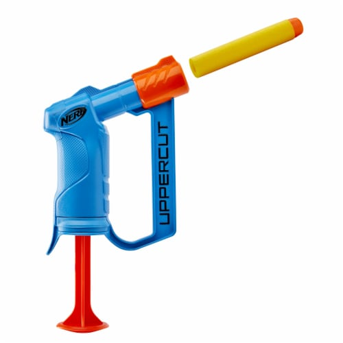 Nerf Alpha Strike Uppercut Blaster - Blue Perspective: front