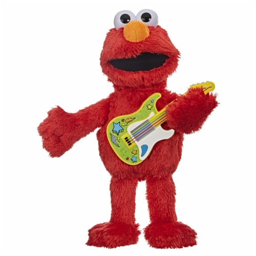 Playskool Sesame Street Rock and Rhyme Elmo Perspective: front