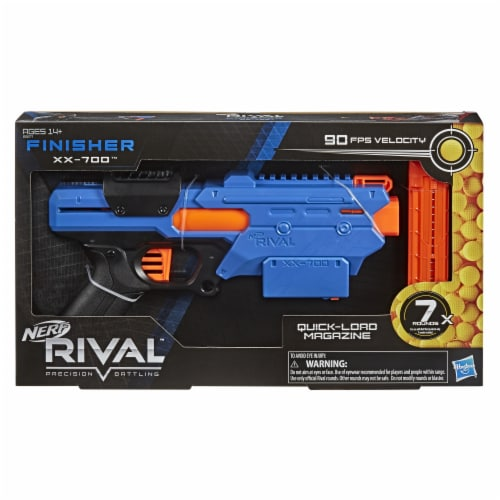 Nerf Rival Finisher XX-700 Dart Blaster Perspective: front