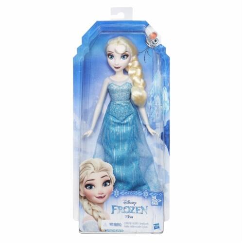 Disney Frozen Classic Fashion Doll Elsa Perspective: front