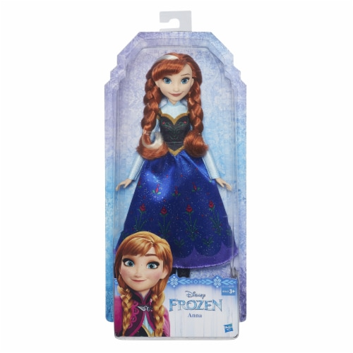 Disney Frozen Classic Fashion Doll Anna Perspective: front
