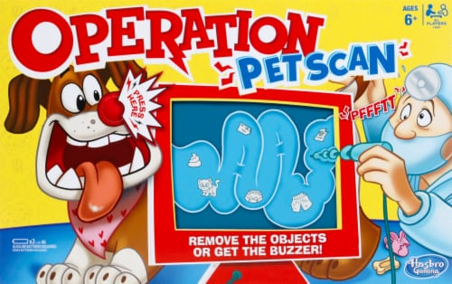 Hasbro Gaming Operation Pet Scan Board Game Perspective: front