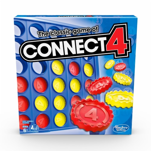 Hasbro Gaming Connect 4 Perspective: front