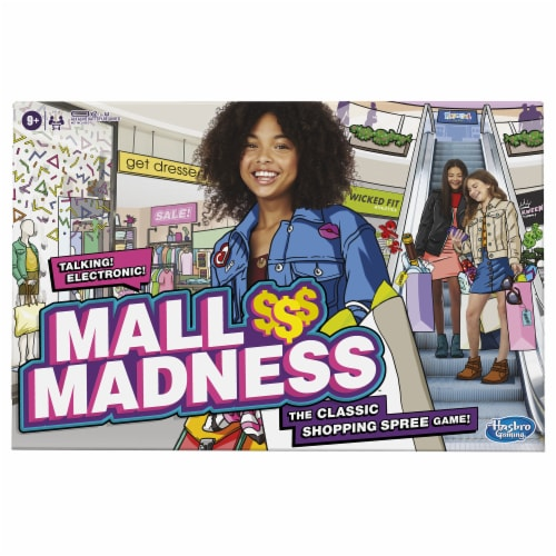 Hasbro Gaming Mall Madness Board Game Perspective: front