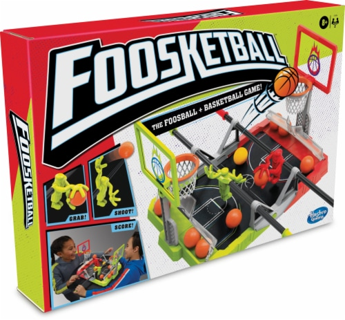 Hasbro Foosketball Game Perspective: front