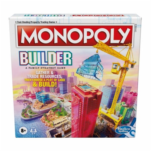 Hasbro Gaming Monopoly Builder Game Perspective: front
