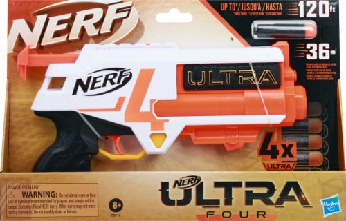 Nerf Ultra Four Blaster Perspective: front