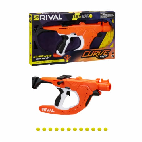 Nerf Rival Curve Shot Sideswipe Blaster Perspective: front
