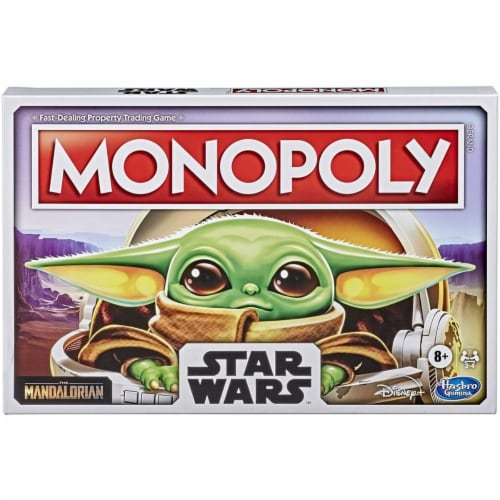 Monopoly: Star Wars The Child Edition Board Game for Families Perspective: front